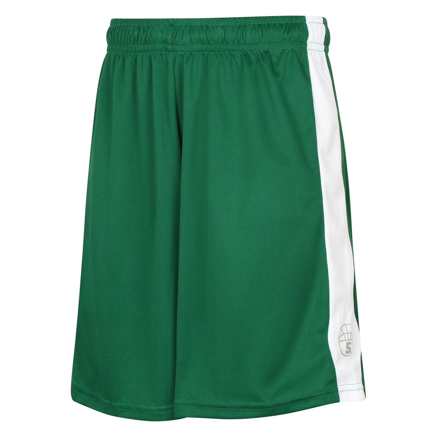 Starting 5 Pelham Basketball Shorts Green/White