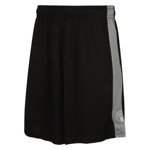 Starting 5 Pelham Basketball Shorts Black/Grey