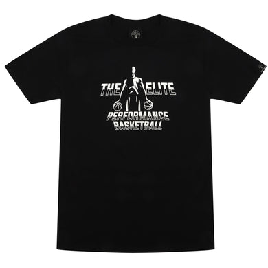 The Elite Black Basketball T Shirt