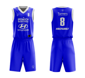 STARTING 5 Sublimated Basketball Kit Single-Sided Example 14