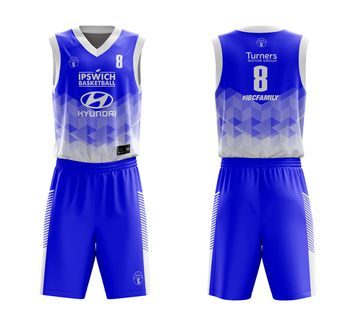 STARTING 5 Sublimated Basketball Kit Single-Sided Example 4