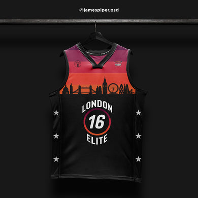 James Piper Design STARTING 5 Made to Order Basketball Kit Single-Sided Example 7