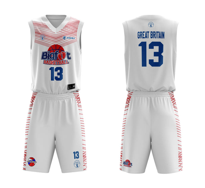 STARTING 5 Sublimated Basketball Kit Single-Sided Example 10