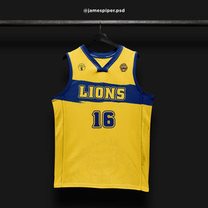 James Piper Design STARTING 5 Made to Order Basketball Kit Single-Sided Example 8