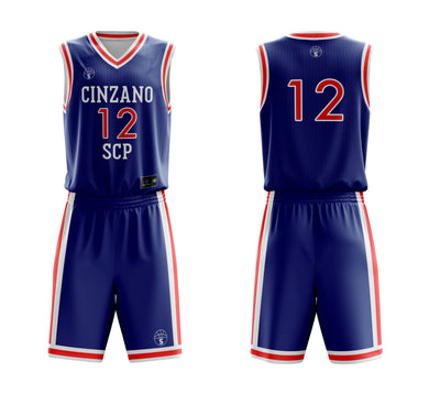 STARTING 5 Sublimated Basketball Kit Single-Sided Example 11