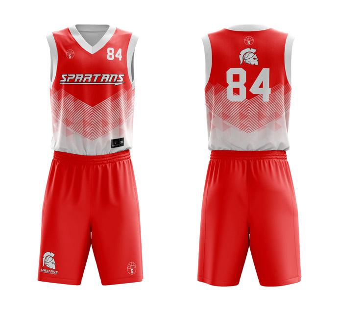 STARTING 5 Sublimated Basketball Kit Single-Sided Example 7