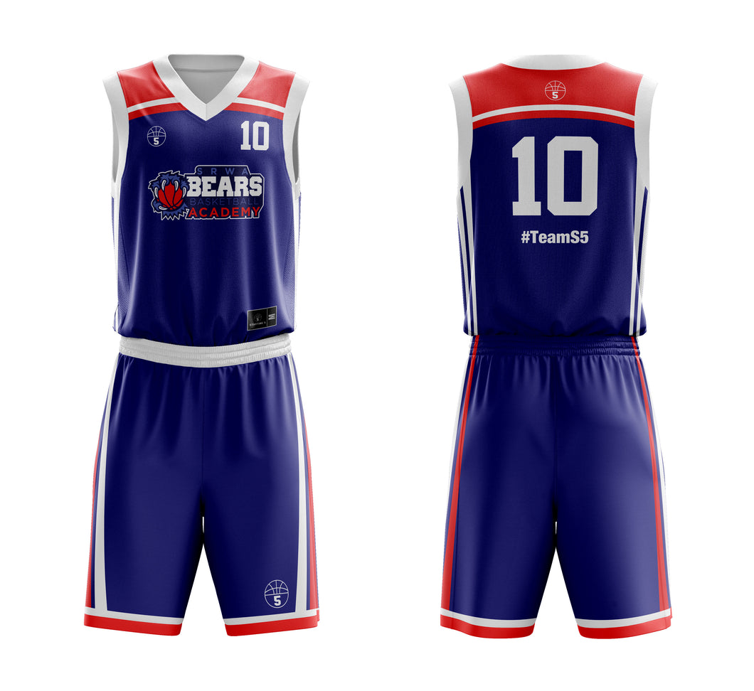 STARTING 5 Sublimated Reversible Kit Example 5
