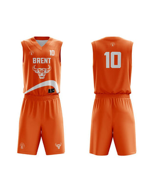 STARTING 5 Sublimated Basketball Kit Single-Sided Example 21