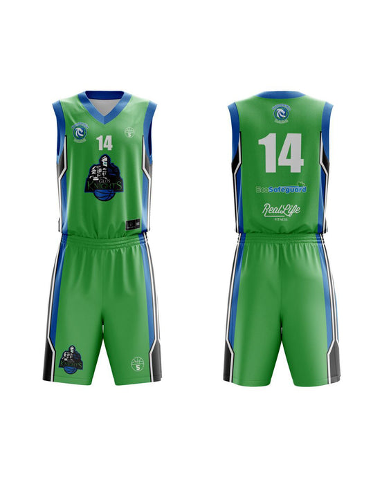 STARTING 5 Sublimated Basketball Kit Single-Sided Example 22