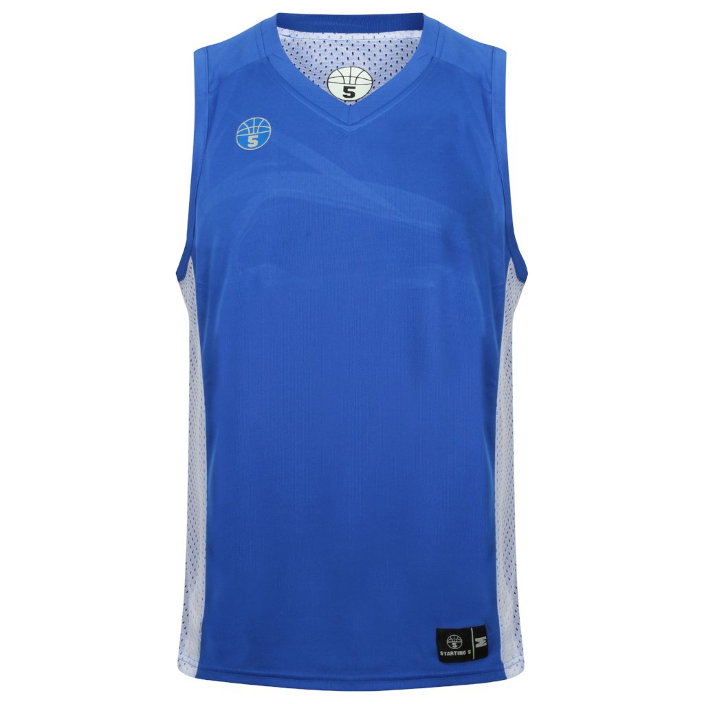 Franklin Reversible Basketball Playing Kit Royal/White