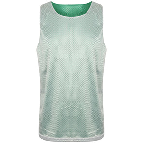 Manhattan Reversible Training Vest Green/White
