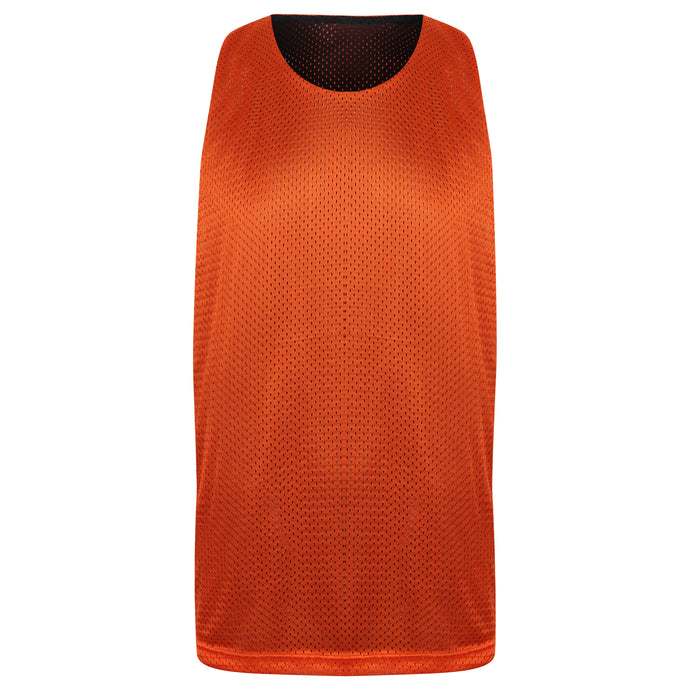 Manhattan Reversible Training Vest Orange/Black