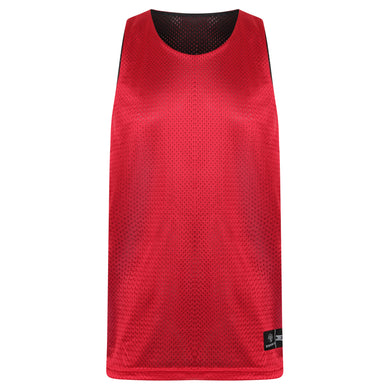 Manhattan Reversible Training Vest Red/Black