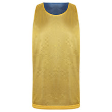 Load image into Gallery viewer, Manhattan Reversible Training Vest Royal/Yellow