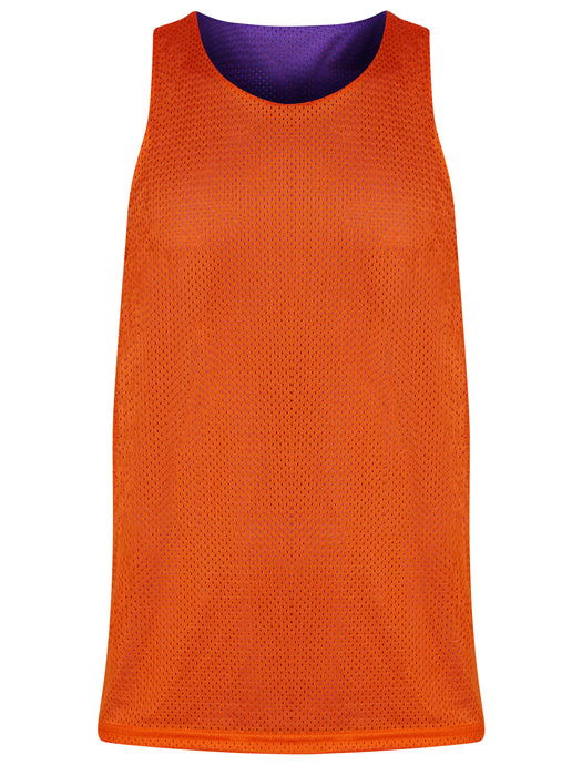 Manhattan Reversible Training Vest Purple/Orange