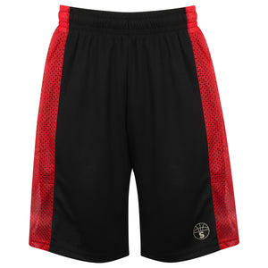 Franklin Reversible Basketball Playing Kit Black/Red