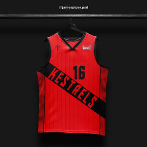 James Piper Design STARTING 5 Made to Order Basketball Kit Single-Sided Example 13