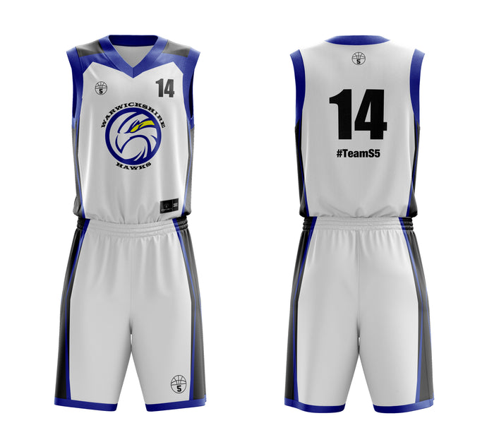 STARTING 5 Sublimated Basketball Kit Single-Sided Example 15