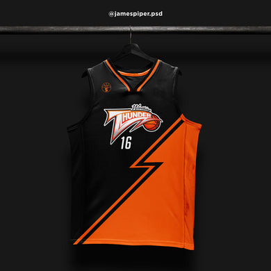 James Piper Design STARTING 5 Made to Order Basketball Kit Single-Sided Example 15