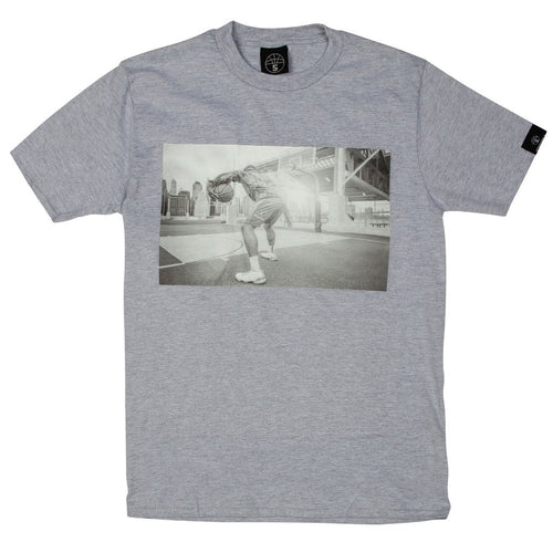 Heaven Grey Basketball T shirt with Photographic Print