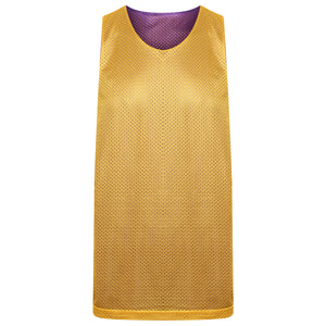 Manhattan Reversible Training Vest Purple/Gold