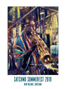 2019 Satchmo SummerFest Poster