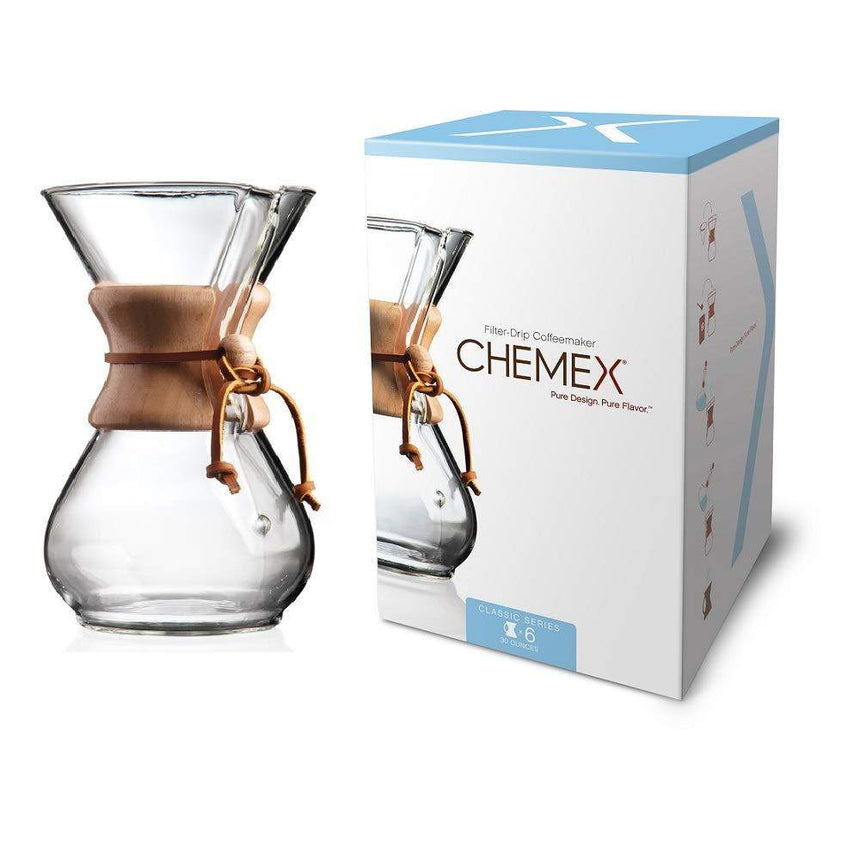 Chemex 6-cup coffee brewer
