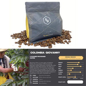 Load image into Gallery viewer, Image of Colombian Giovanny single origin coffee 250g bag