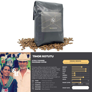 Load image into Gallery viewer, Image of Timor Rotutu single origin coffee 1kg bag
