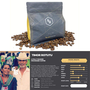 Load image into Gallery viewer, Image of Timor Rotutu single origin coffee 250g bag