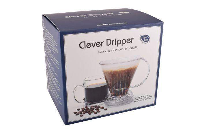Clever Coffee Dripper with filters