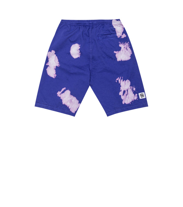 PURPLE BLEACH SHORTS