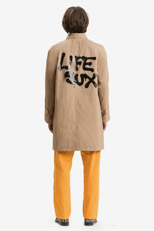 GRAFFITI COAT