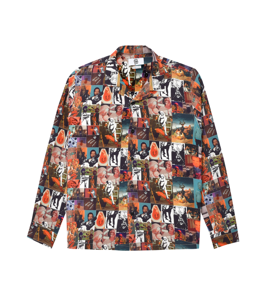 PATTERN BOWLING SHIRT