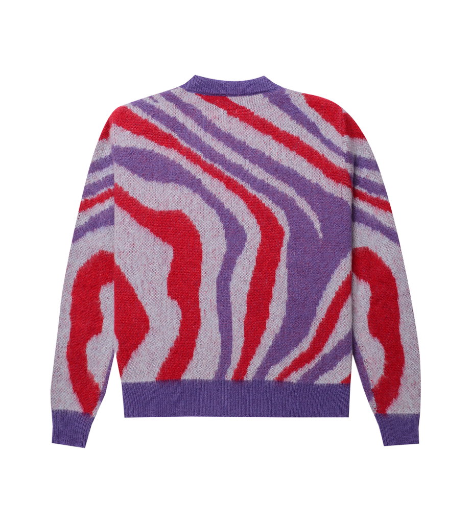 PATTERN CREWNECK SWEATER