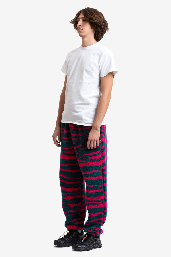 RETRO FLEECE CLIP PANT - ACID TIGER