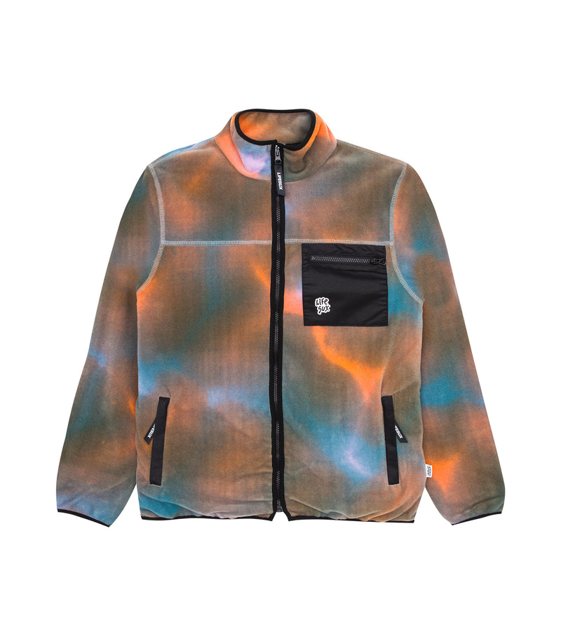POLAR ZIP-UP - TIE DYE