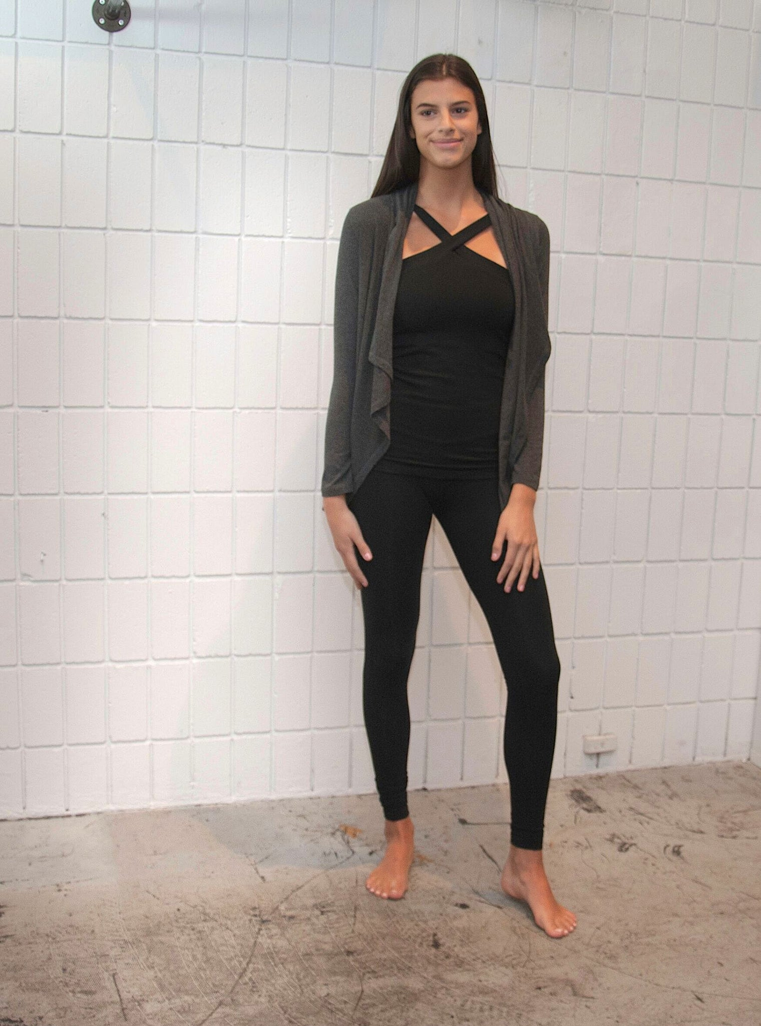 Movement Global modular sustainable fashion yoga wear that goes to the boardroom style. Made in Canada