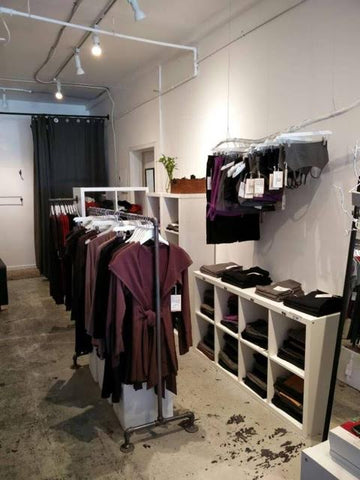 Movement Global Organic Cotton and Bamboo Store in Vancouver new look