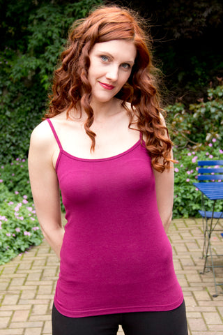 Tami Cami in Fuscia by Movement Global sustainable style made in Canada