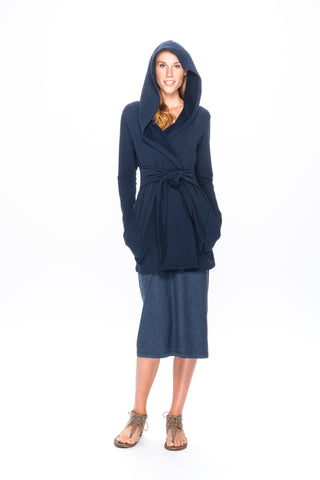 WJF3 Kira Kimono in Organic Cotton and Bamboo Fleece