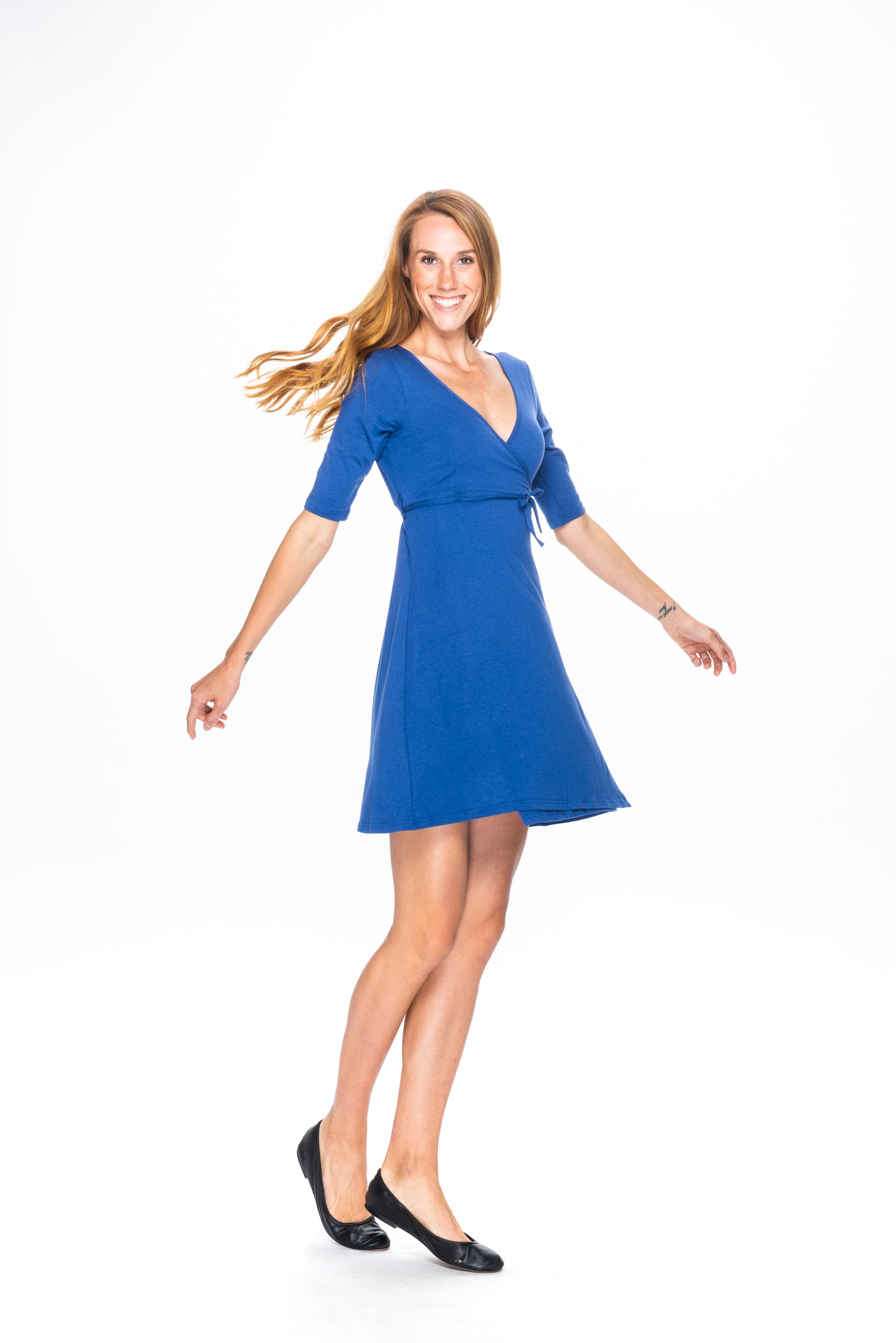 Kail in Bamboo and Organic Cotton Modular Dress and Top by Movement Global