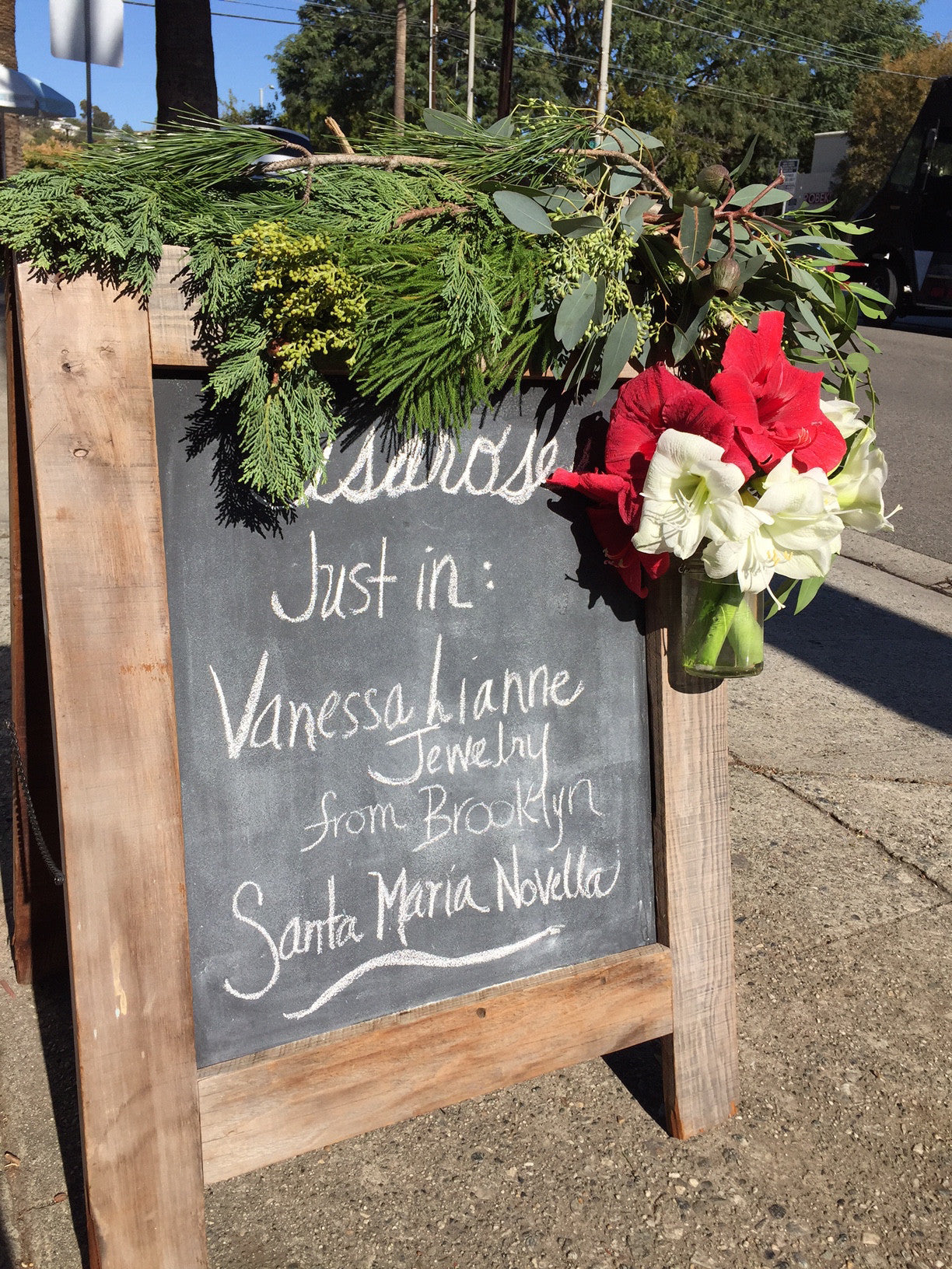 Vanessa Lianne Jewelry now at isarose Flowers in Pacific Palisades