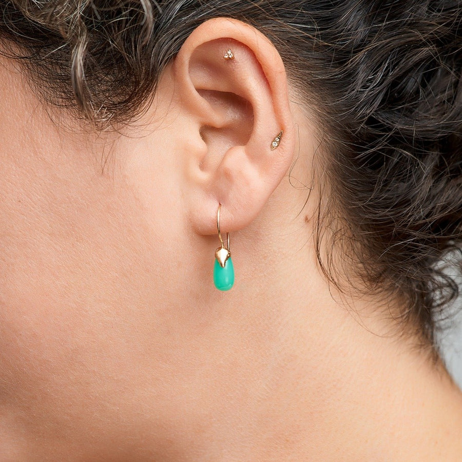 Isobel Chrysoprase Drops