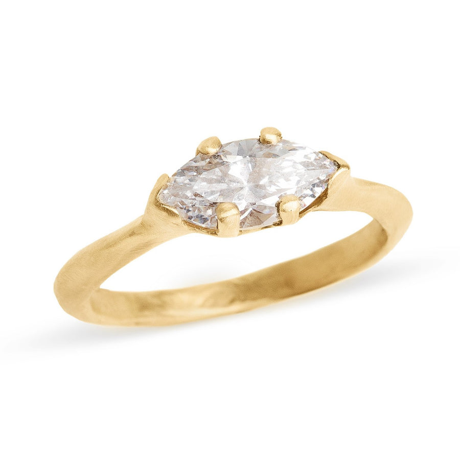 Marquis  Diamond Sloan Ring