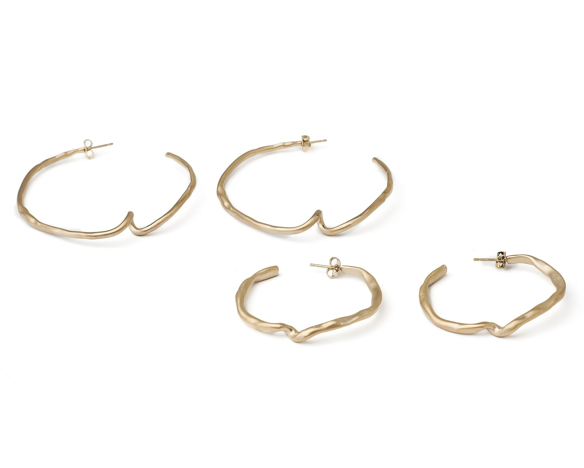 Demi Cobra Hoops
