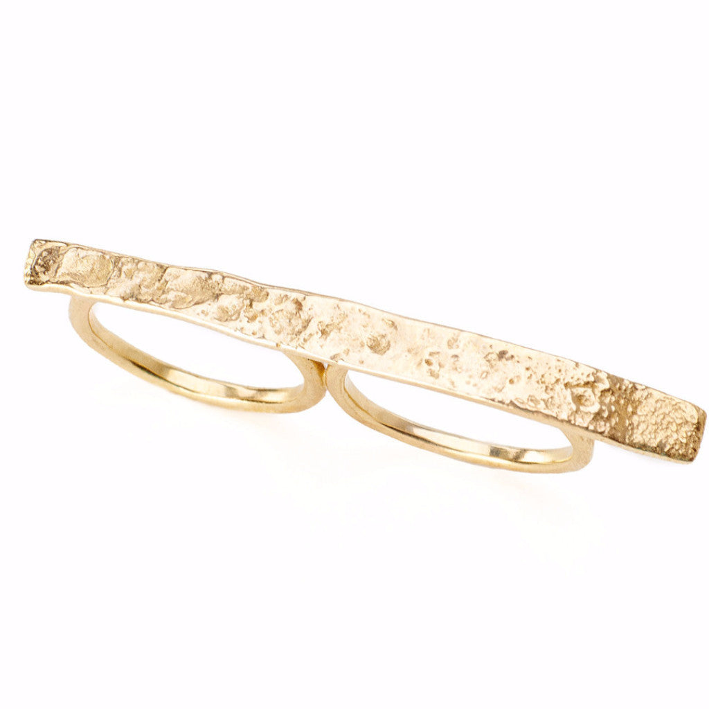 Collette Double Finger Ring