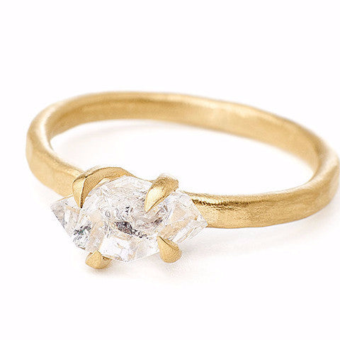 Sloan Ring Herkimer Diamond