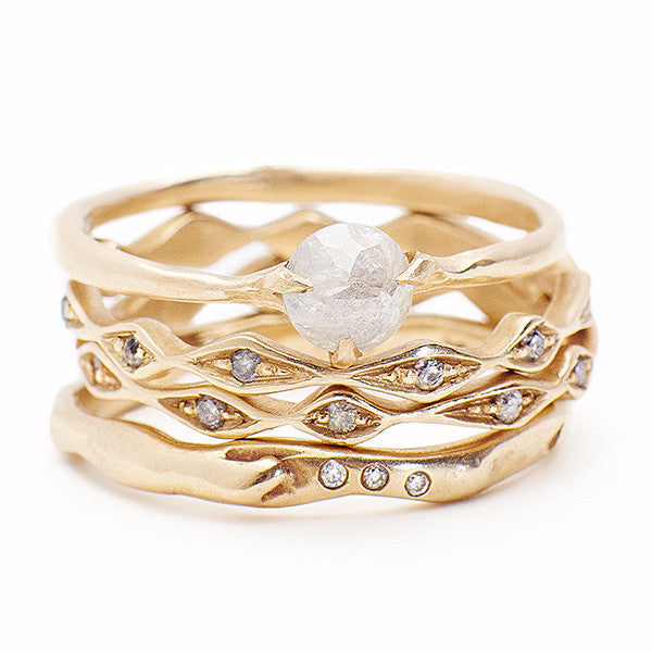 Kate Ring With Diamonds