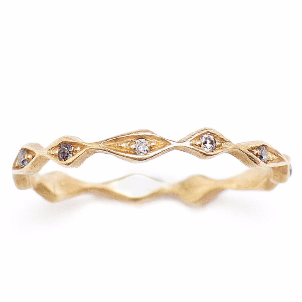 Inez Diamond Eternity Band
